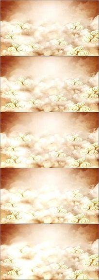 中国风祥云背景视频素材(无缝循环)