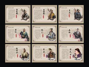 古代中华名医展板模版
