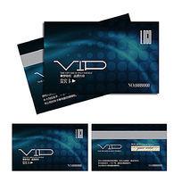 蓝色抽象背景VIP卡设计