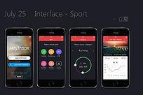 app运动界面设计