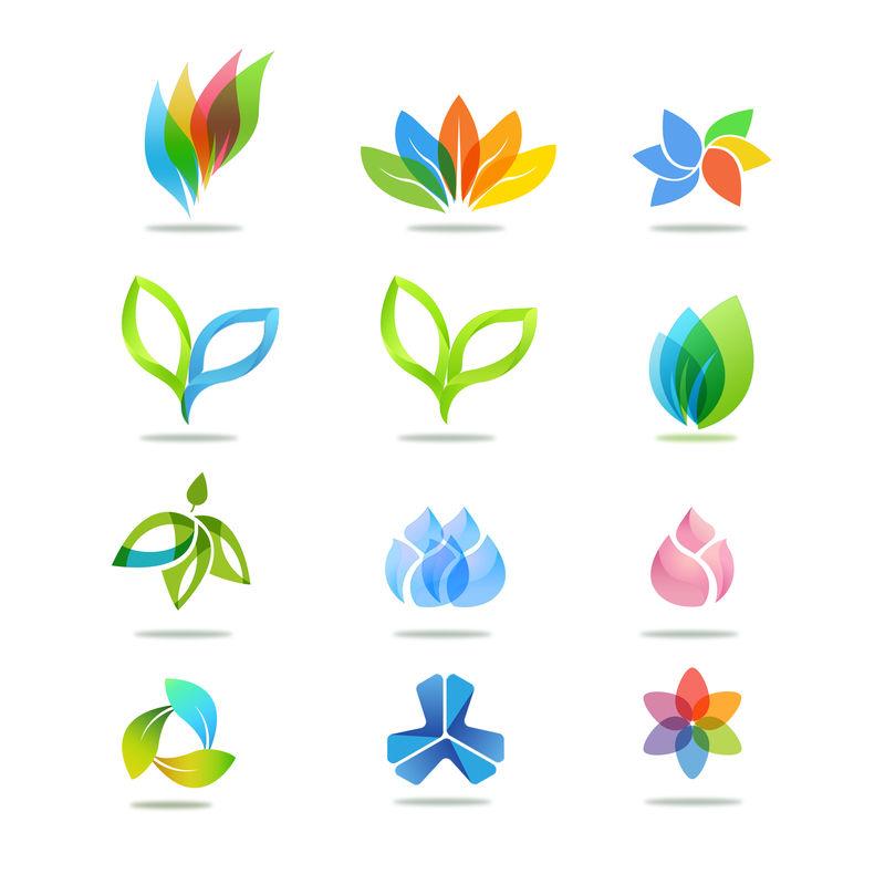 叶子图标图片