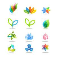 叶子图标图片 PSD