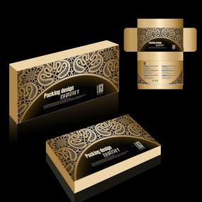 金色高档包装盒设计