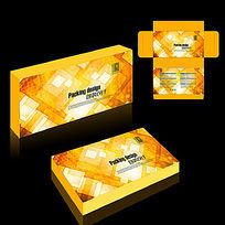 金色数码产品包装盒设计
