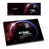 黑色质感科技横版封面