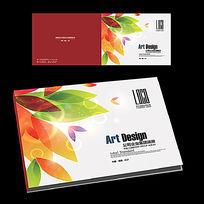 婚禮相冊封面設計橫版圖片