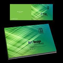 绿色科技公司横版封面设计