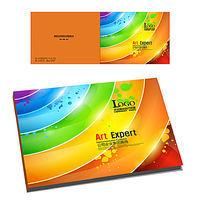 企业产品宣传册横版封面