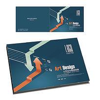 企业画册横版封面设计