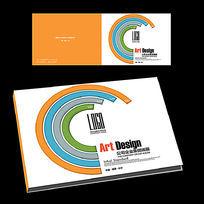 宣传画册横版封面设计