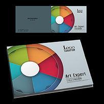 印刷涂料公司宣传册封面设计