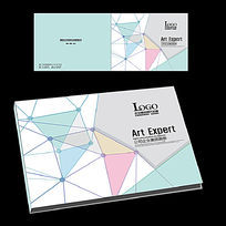 艺术设计横版封面设计