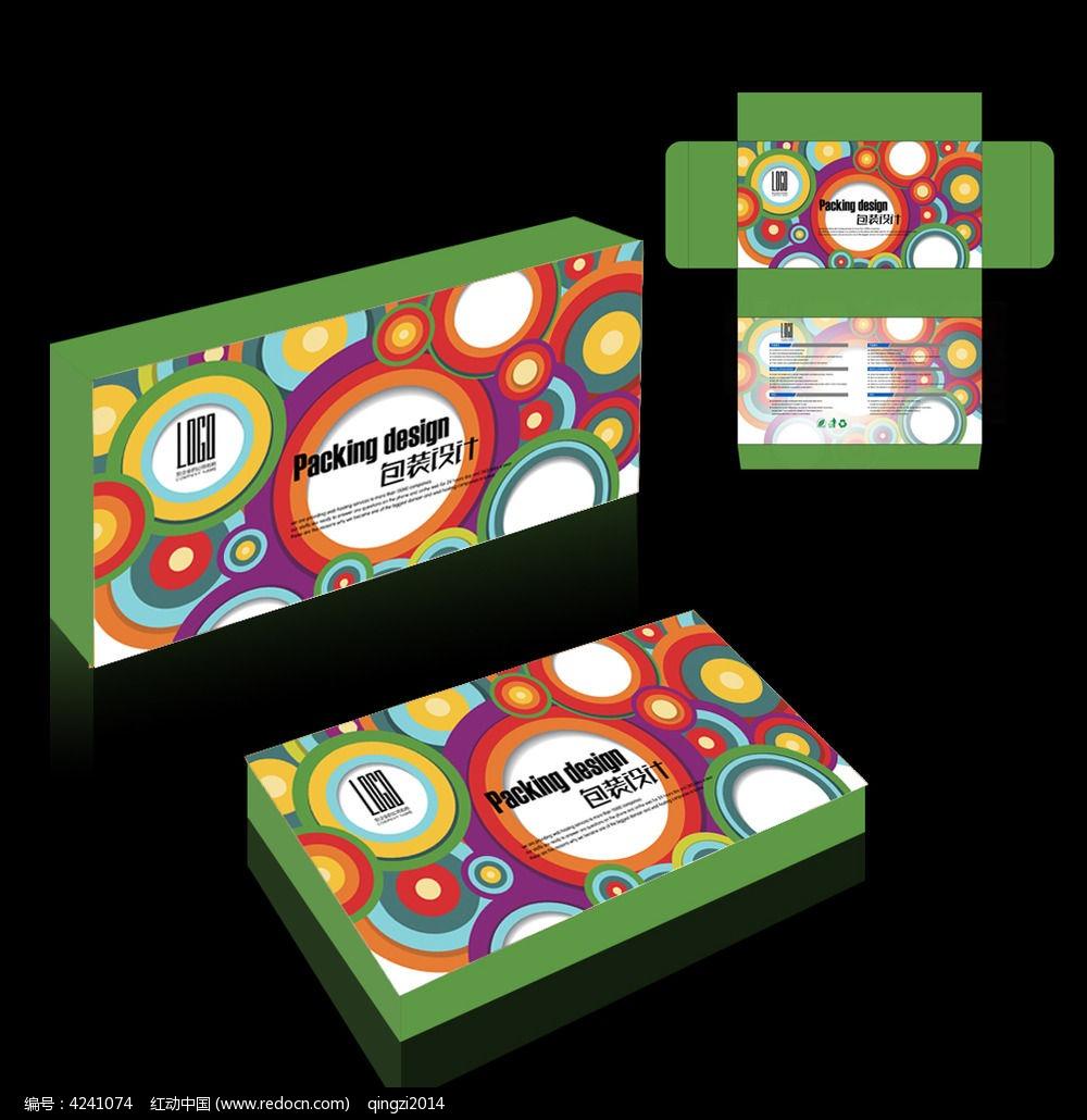食品糖果类包装盒设计