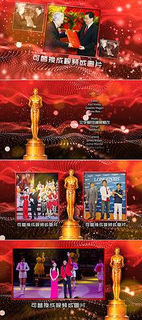 奥斯卡电影节演员优秀员工颁奖典礼包装ae模板