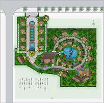 园林景观平面图设计