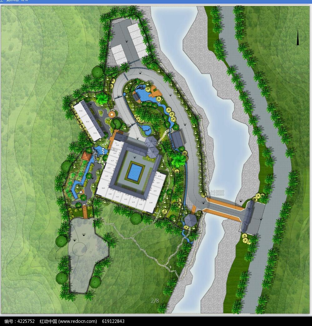 园林景观设计平面图图片