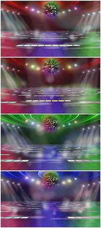 动感酒吧夜场舞厅绚丽灯光视频