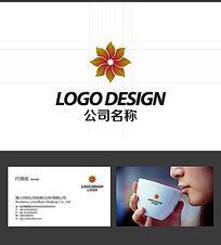 花瓣LOGO标志设计
