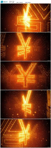 人民币符号背景素材
