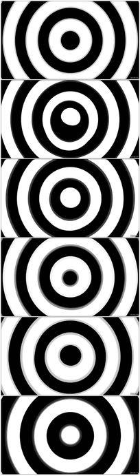 白圈节奏动感视频素材