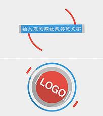 公司网站宣传片头AE模板