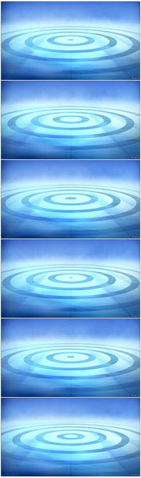蓝漩涡变动电视包装栏目包装高清视频
