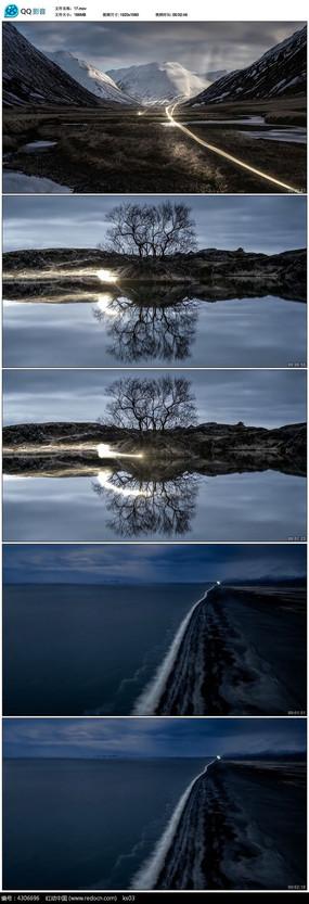 唯美风景大自然实拍视频素材