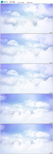 蓝天白云动态视频素材下载