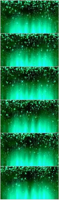 绿色粒子视频素材