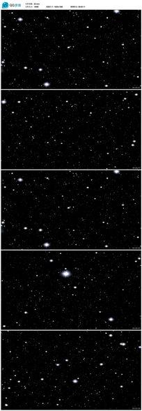 8款 高清宇宙穿越星空mov视频背景下载
