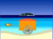 一则儿童教育故事flash动画《团结力量,方向一致》