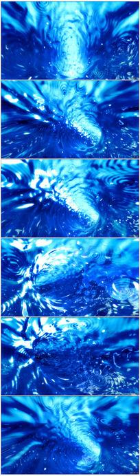 水海洋动态视频素材