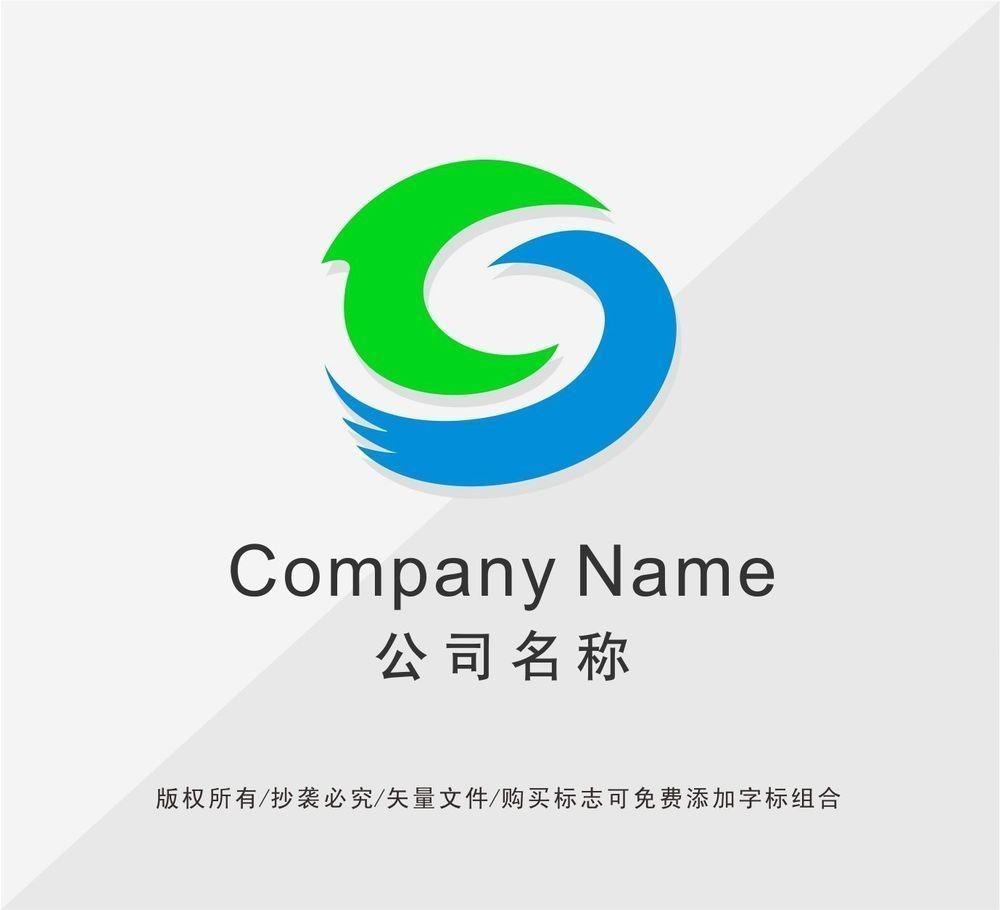 字母c变形logo设计图片