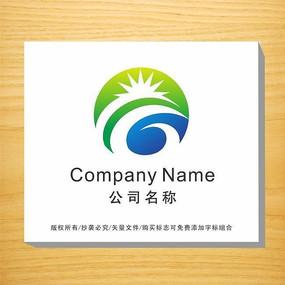 字母G变形企业LOGO设计