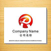 字母R变形企业LOGO设计