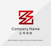 字母S标志设计