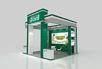 邮政特装展位3d模型