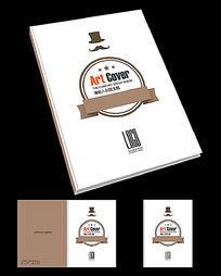 美食餐厅画册封面设计