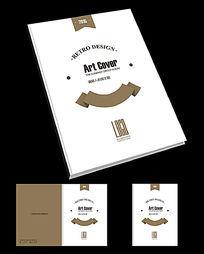 西点店创意宣传画册封面模板