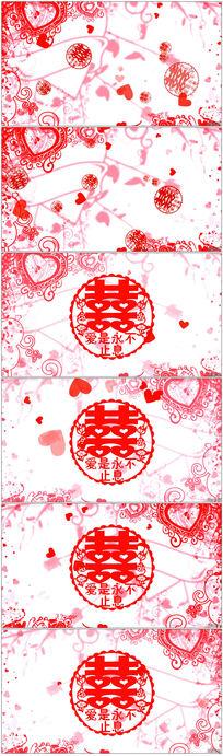 剪纸红花步骤图