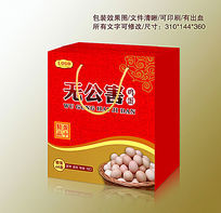 无公害鸡蛋礼盒包装箱设计