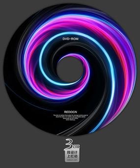 炫光科技视频光盘设计 PSD