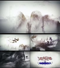 中国水墨高清视频片头素材