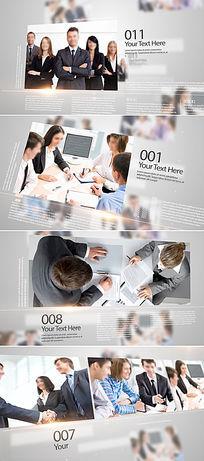简洁大气ae企业商务宣传模板
