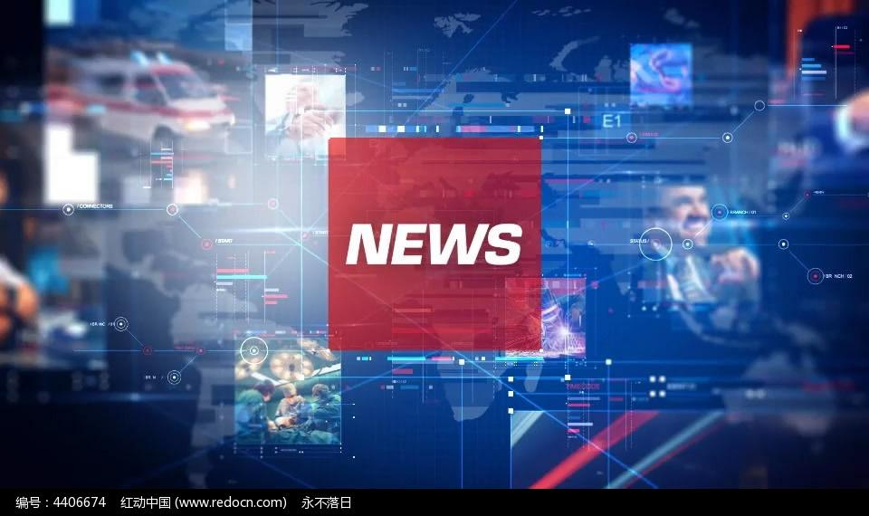 新闻片头ae模板_视频素材/片头片尾/ae模板图片素材
