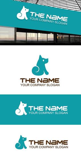 狗狗LOGO标志(原创出售)