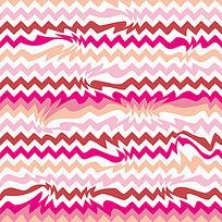 几何构成对接底纹