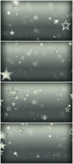 五角星项链视频背景