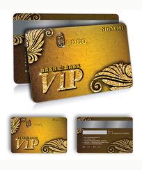 高档黄金vip贵宾卡设计