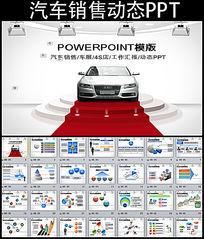汽车销售展销会PPT模板